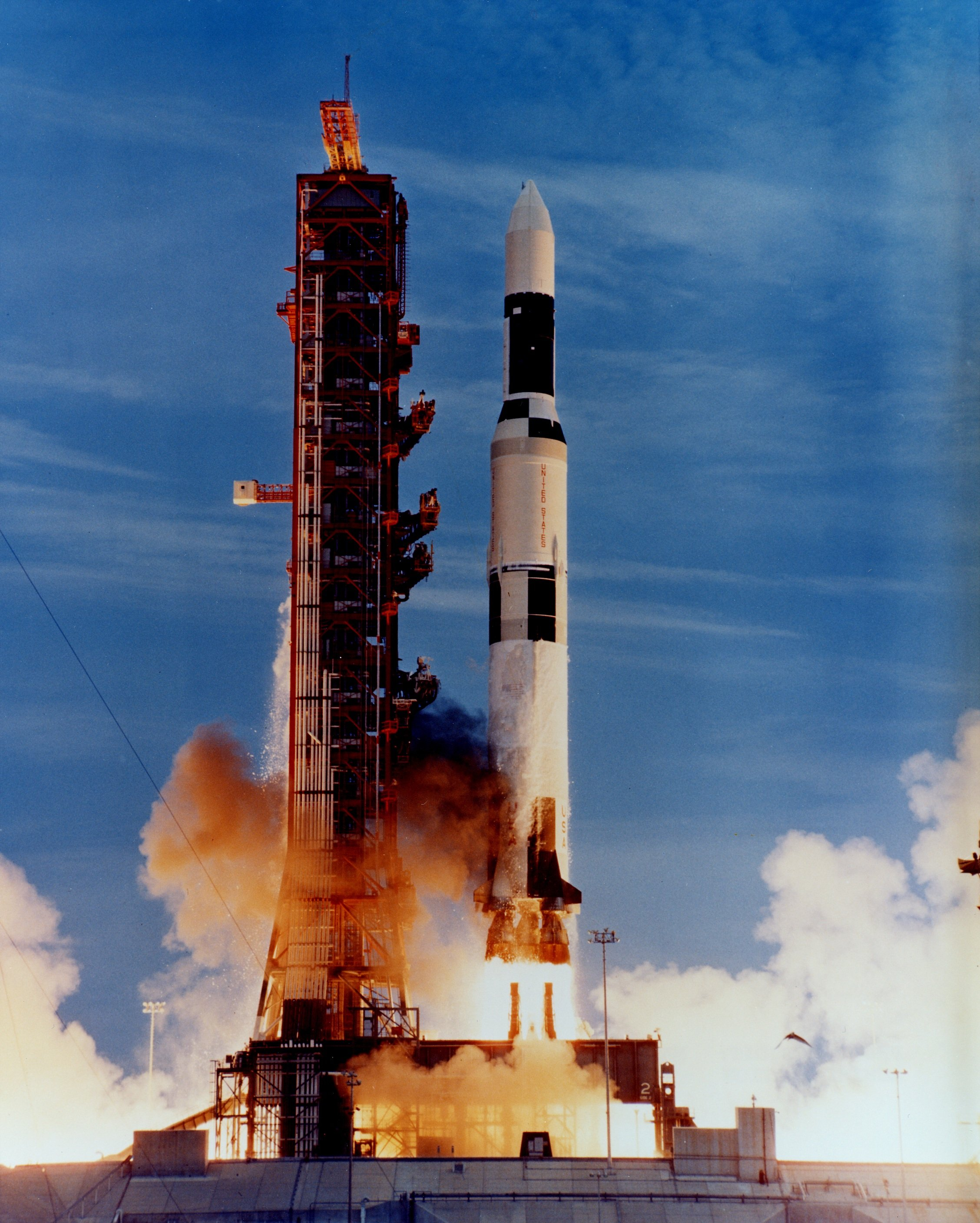 All Saturn V Launches At Once | Aviation Blog