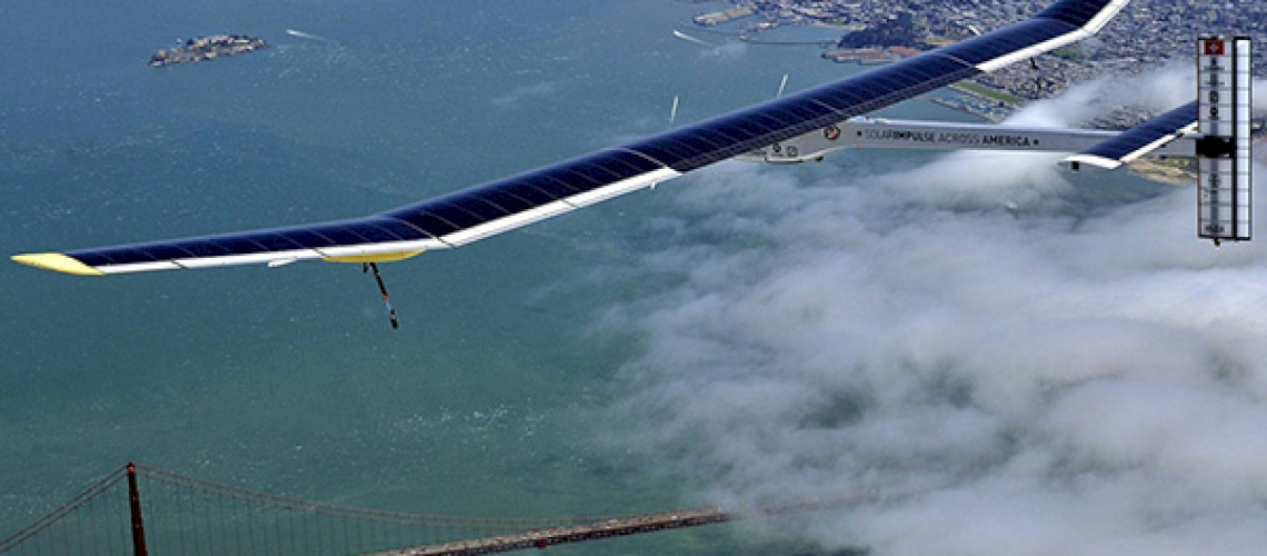 Solar Impulse 2: around the world without fuel