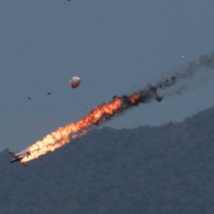 Two Indonesian aircraft crashed during training