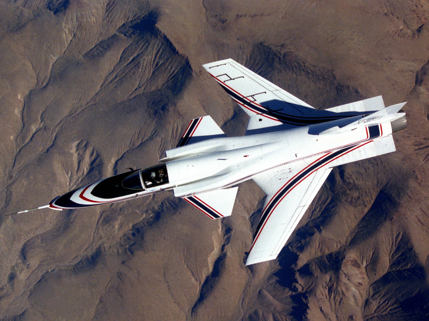 X-29 Forward Swept Wing Jet