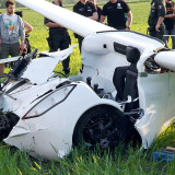 AeroMobil 3.0 Flying Car Crash