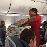 Pilot Orders Pizzas for Passengers