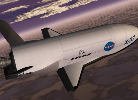 NASA Space Plane Preparing to Launch