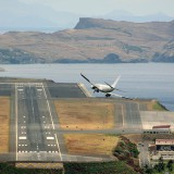 High Winds at Madeira Airport