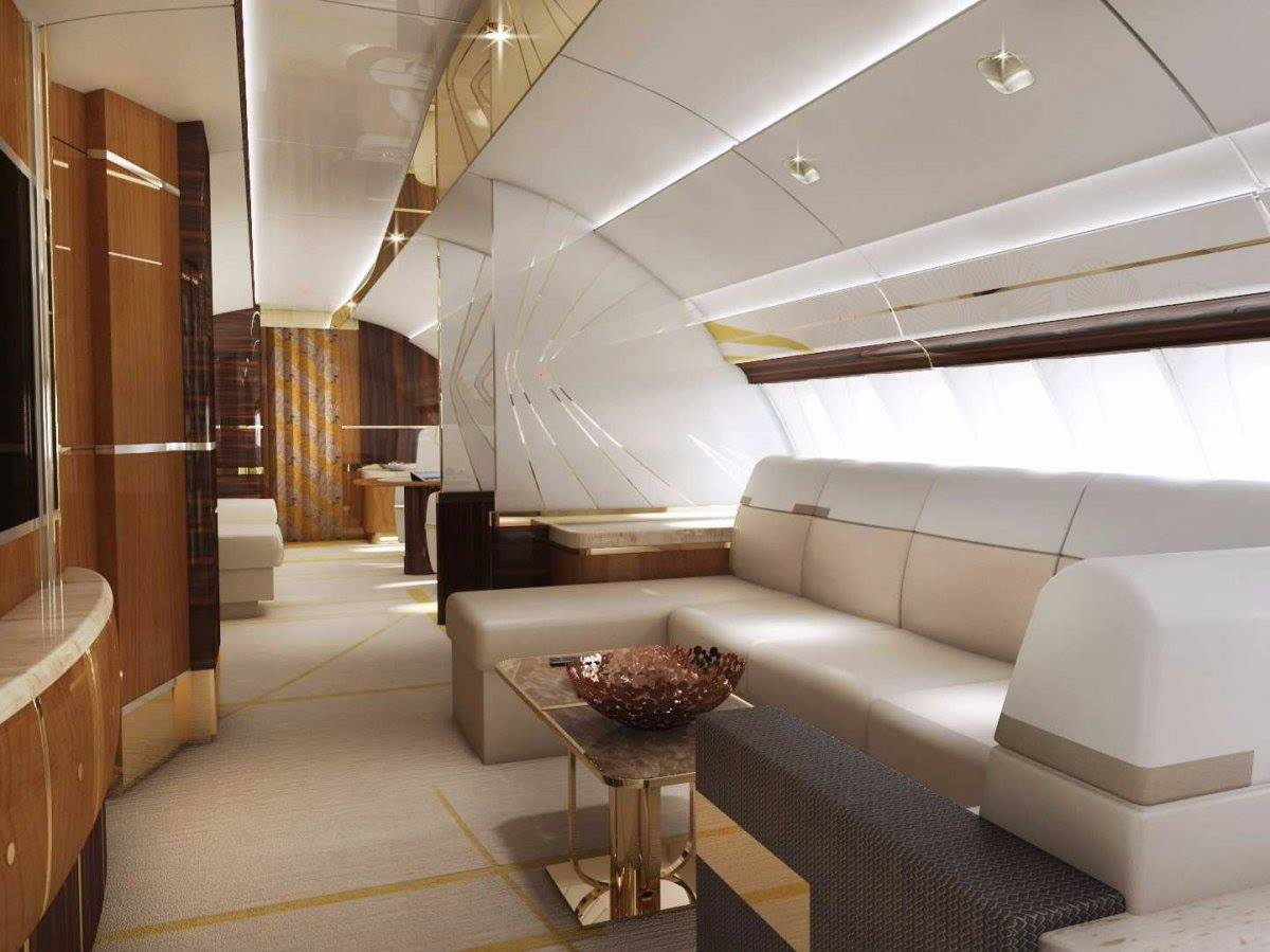 boeing 747 8 private jet