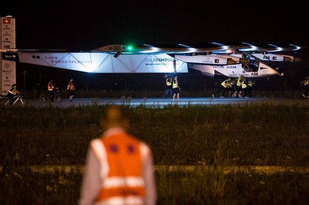 Solar Impulse damaged in Japan