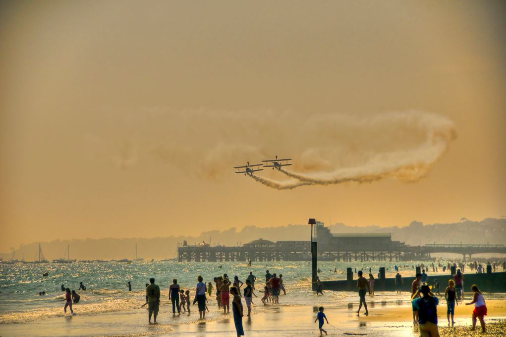 The Bournemouth Air Festival