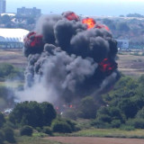 Plane Crashes at Shoreham Air Show