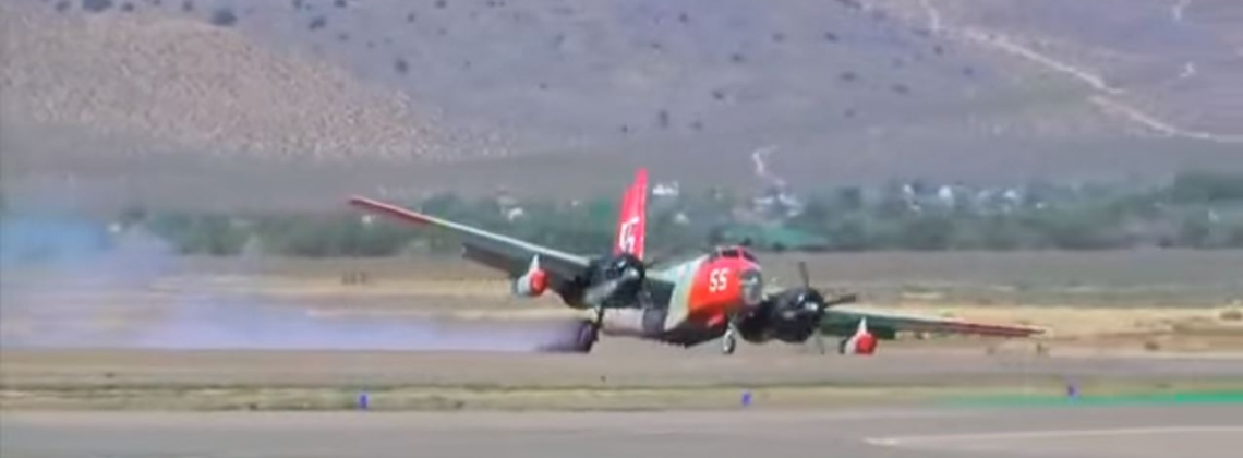Pilot Performs Miracle Emergency Belly-Flop Landing