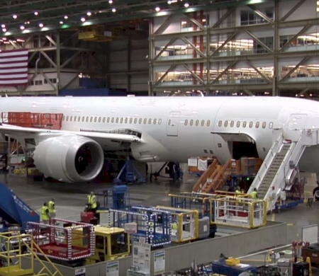 Building the British Airways B787 Dreamliner