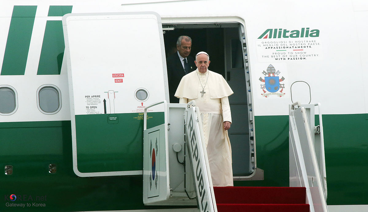pope francis u0026 39  plane hit by laser in mexico city