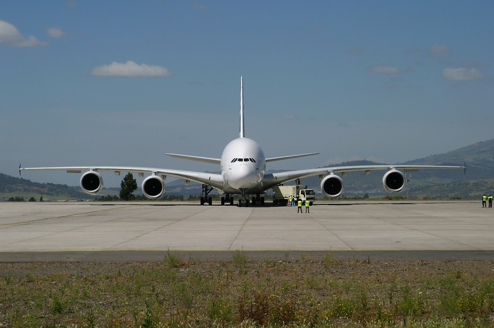 A380 gives you wings...