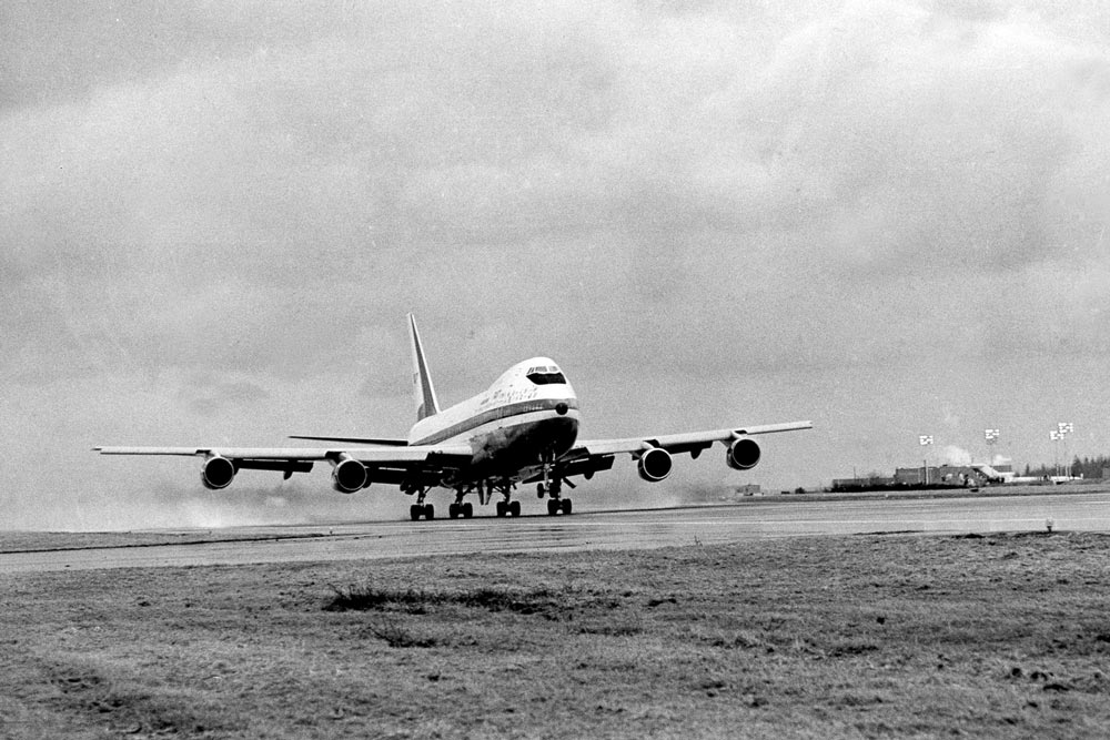 the first boeing