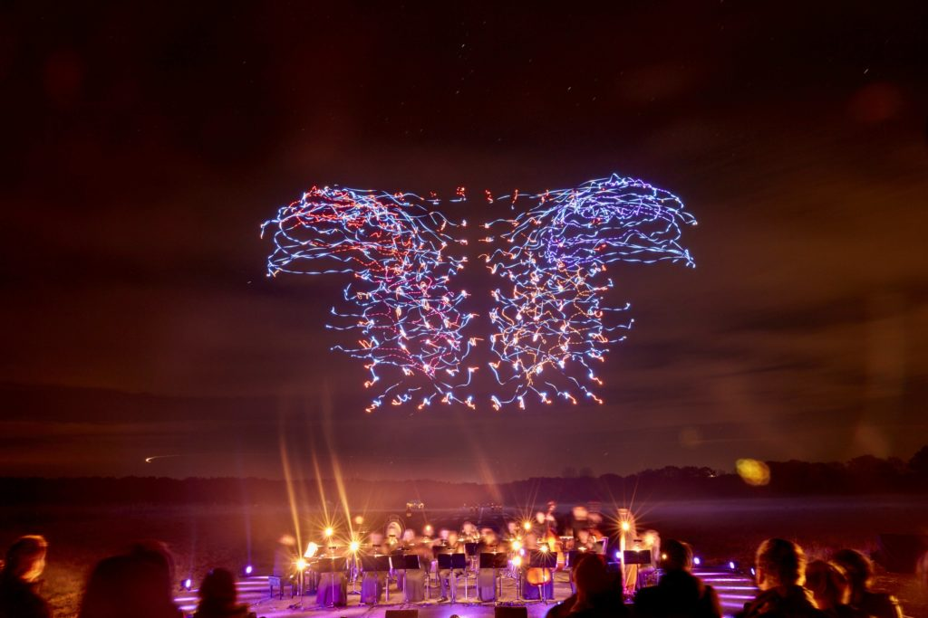 Wonderful Drone Light Show