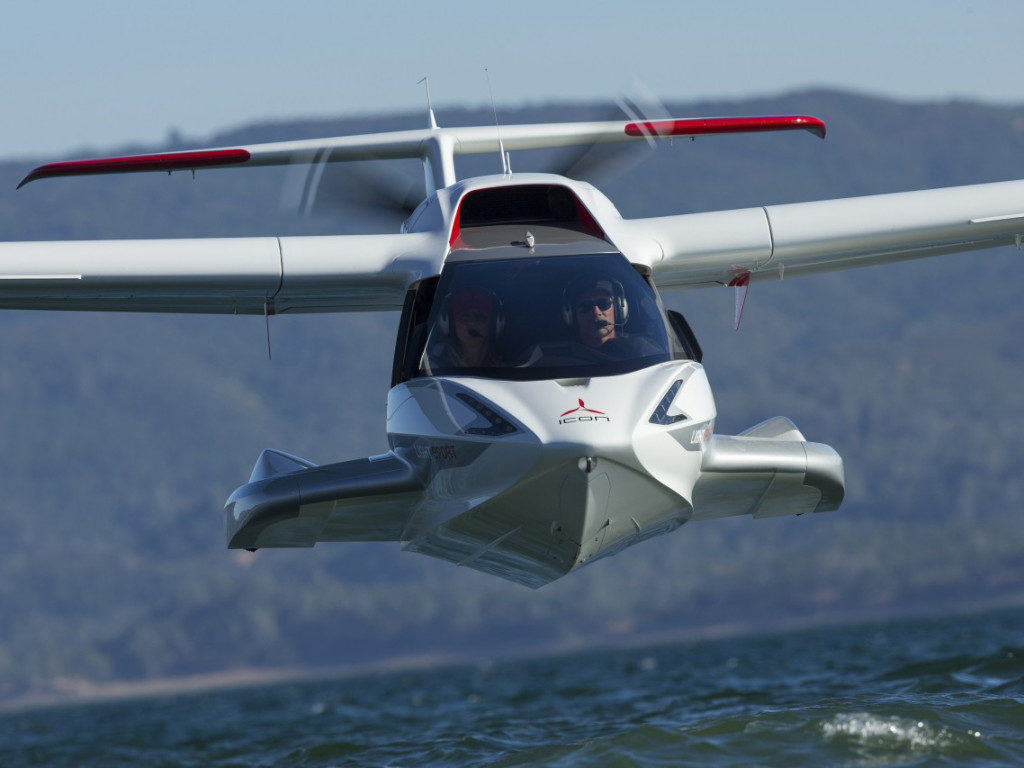 Icon A5 Flying Seaplane of the...