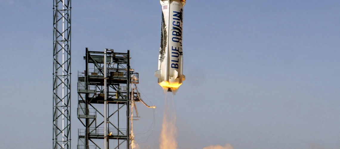 Blue Origin Flies Reusable Suborbital Rocket
