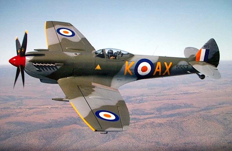 spitfire  the only fighter built throughout wwii