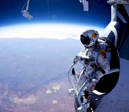 Felix Baumgartner's Jump From The Edge Of Space