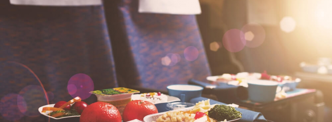 Hundreds of Flights Around the World for the Food