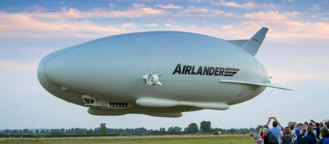 Wold's Largest Aircraft Takes its First Flight