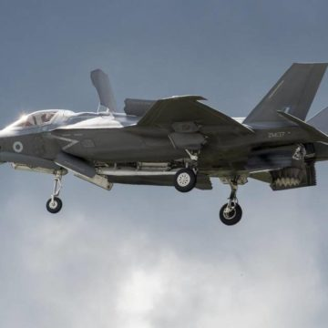 Awesome Static Flight of the F-35 Lightning II