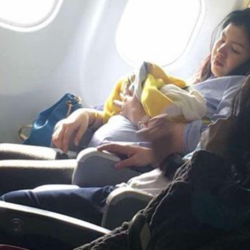 Baby Born on a Plane May Fly Free Forever