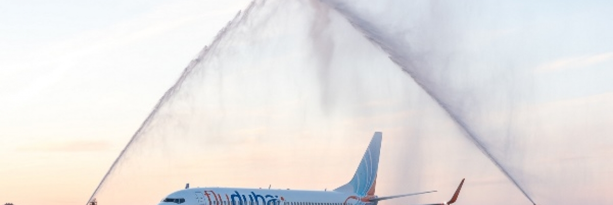 Water Salute - Touching Airport Tradition