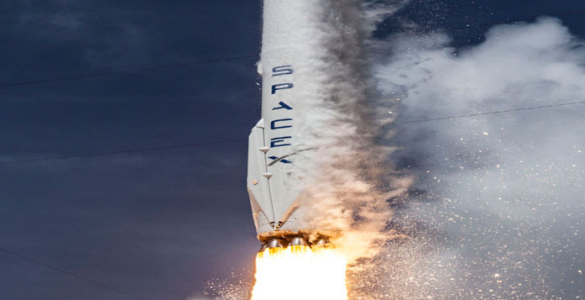 SpaceX explodes