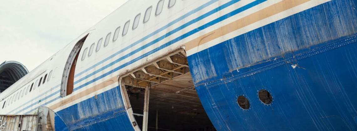 Here's Where Airplanes Go When They're Retired
