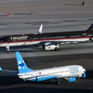Trump's 757 vs. Clinton's 737 Planes