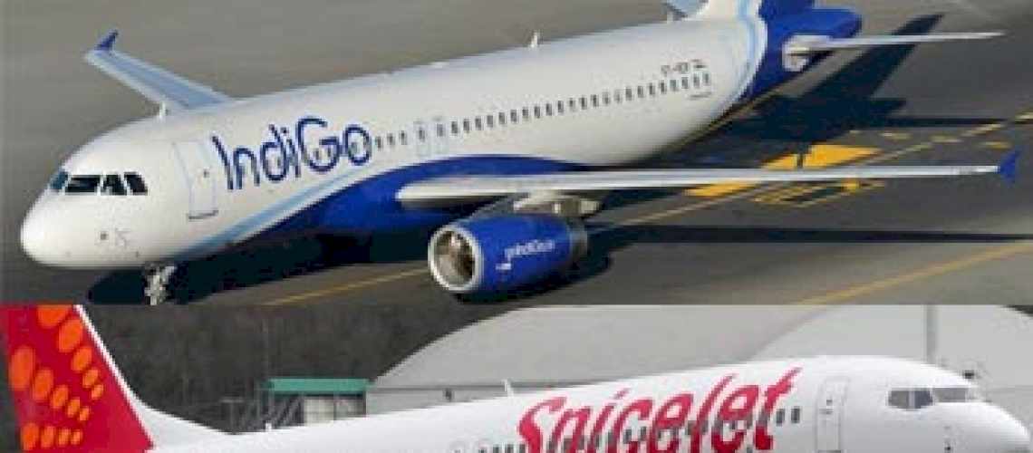 IndiGo and SpiceJet Planes Come Face-to-Face
