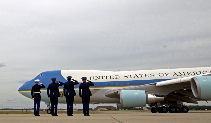Trump asks to cancel order on Air Force One