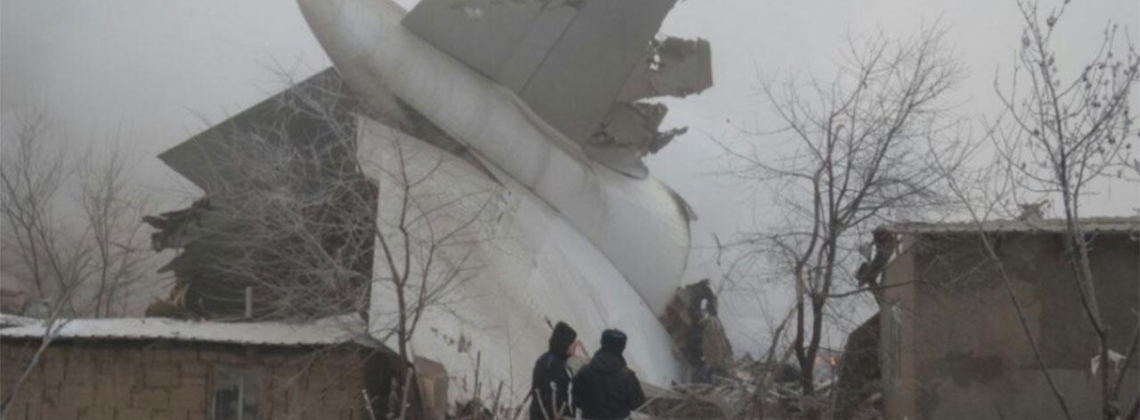 Turkish Cargo Plane Crashes in Kyrgyzstan