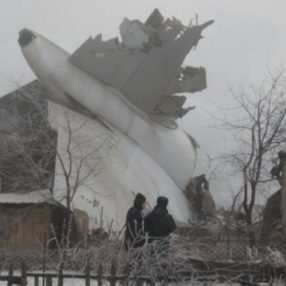 Turkish Airlines Cargo Plane Crashes in Kyrgyzstan