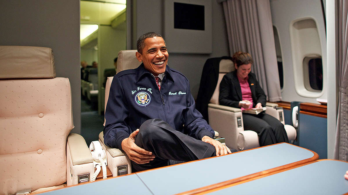 Barack obama 39 s last flight on air force one aviation blog - When is obama going to be out of office ...