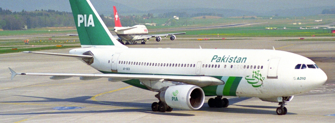 Fighter Jets Escort Pakistan Plane to Stansted