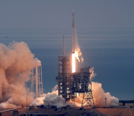 Historic Launch And Dramatic Landing for SpaceX