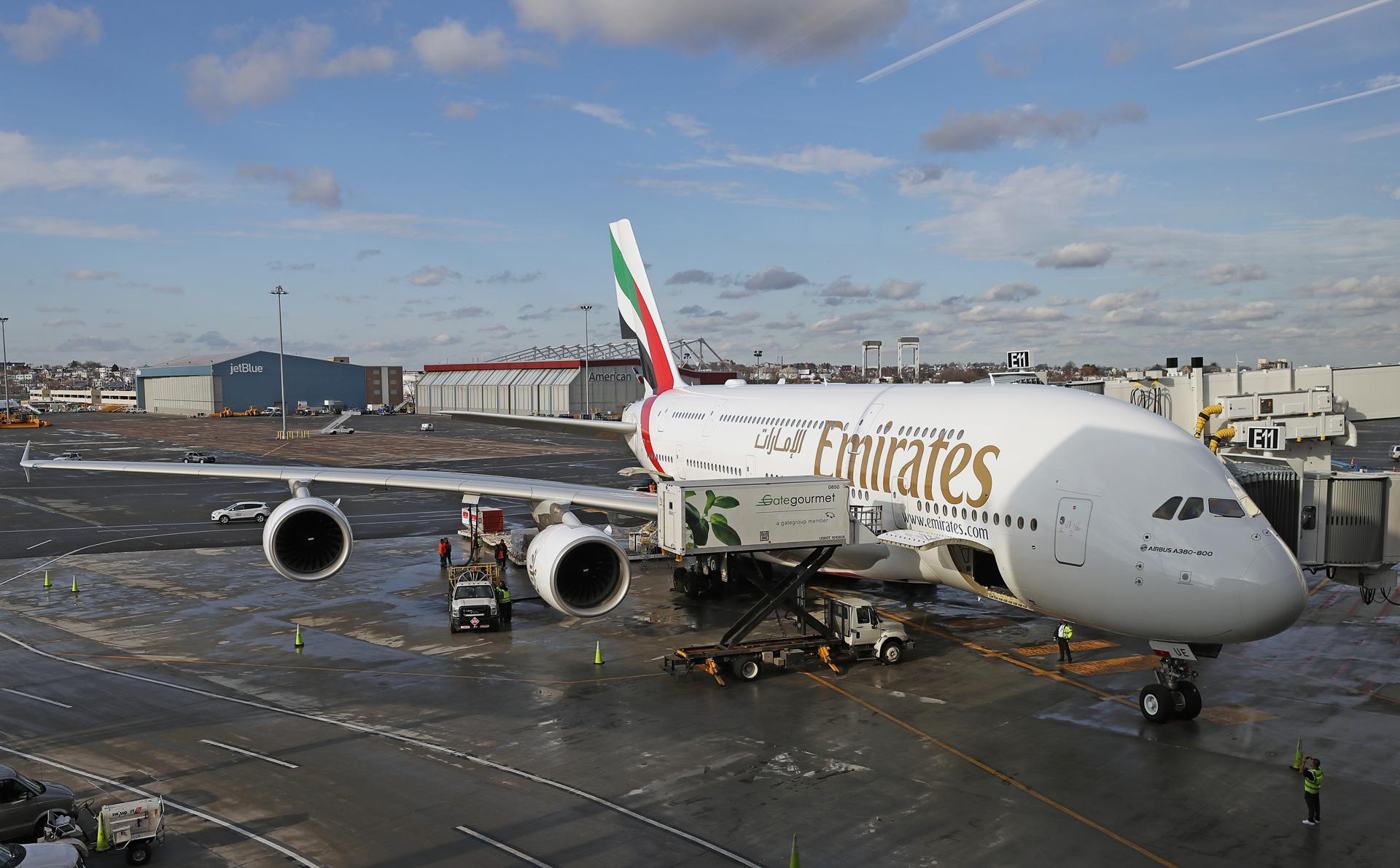 What is the largest passenger plane in the world 38
