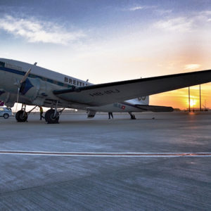 Oldest Plane, From 1940s Makes Stop in Nagpur