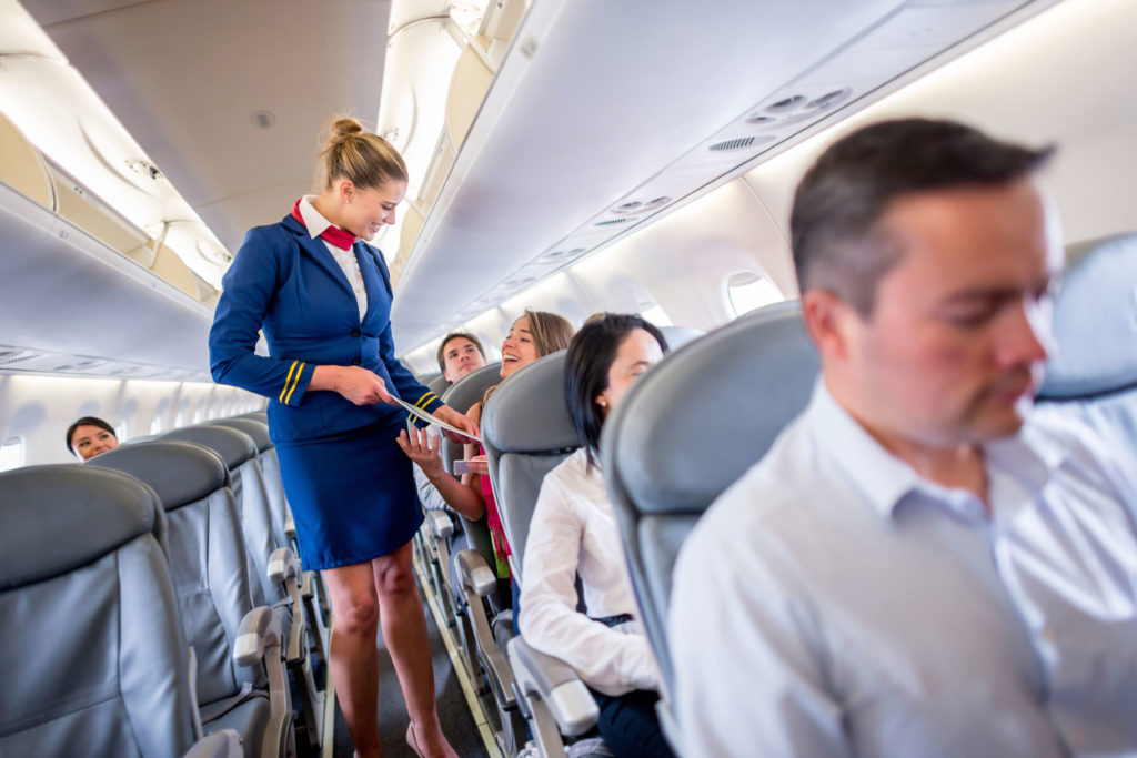 The Flight Attendant job benefits