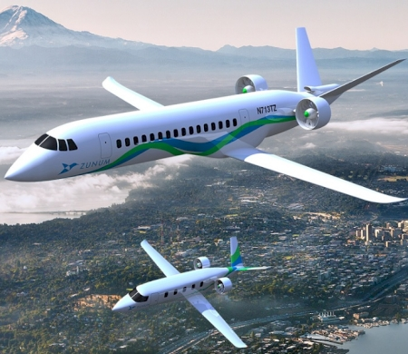 Boeing and JetBlue Are Funding Electric Aircraft