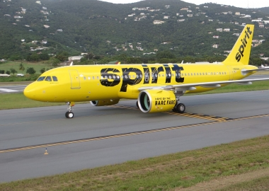 Woman Gives Birth Mid-Flight on Spirit Airlines