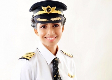 Meet The Youngest Female Pilot to Command a Boeing 777