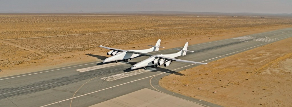 Stratolaunch Tests All Six Engines on Its Plane