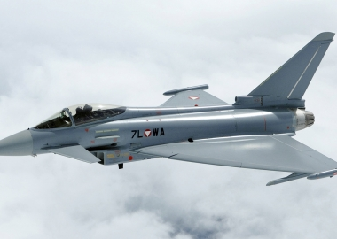 Eurofighter Jet Plunges Into Sea at Italian Air Show