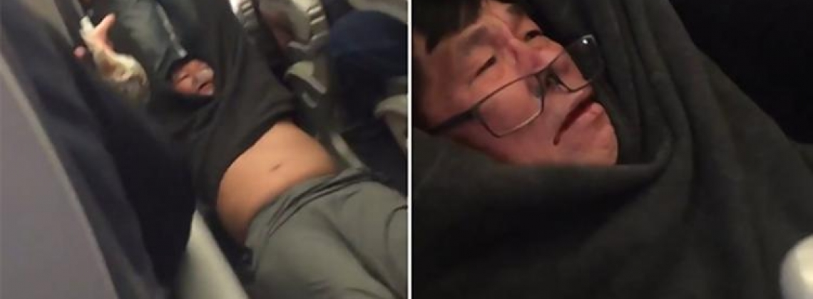 Two Officers Fired For Dragging Man Off United Airlines Flight