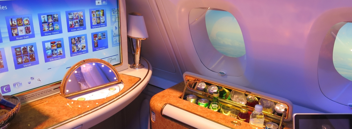 Youtube Star Flew In A New Emirates First Class Suite