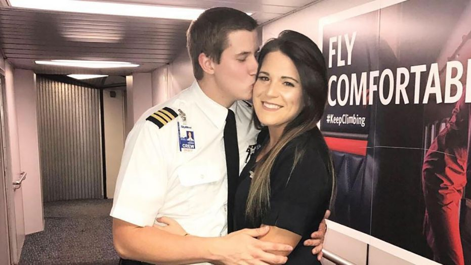 Pilot Proposes To Flight Attendant on A Plane