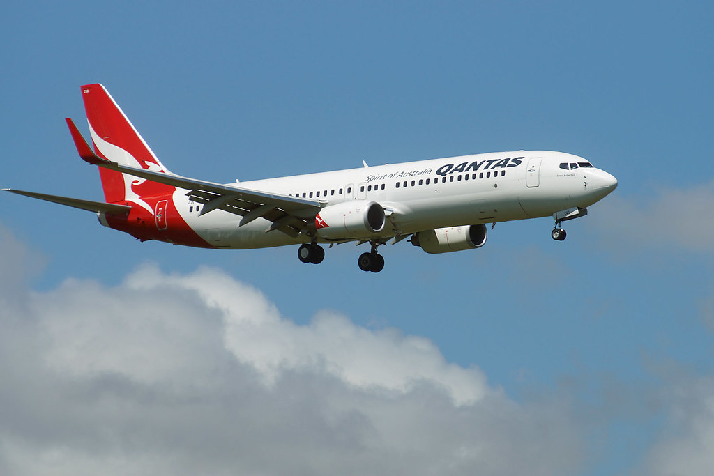 Qantas First Biofuel Flight