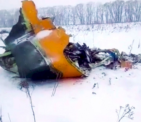 Passenger Plane With 71 on Board Crashes in Russia